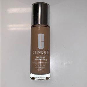 Clinique beyond perfecting foundation+ concealer
